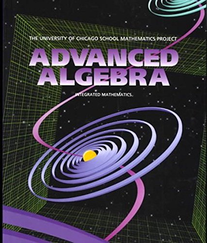 UCSMP Advanced Algebra (University of Chicago School: Sharon Senk; Denisse