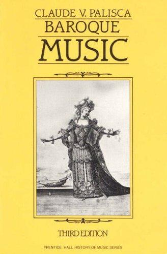 9780130584960: Baroque Music (Prentice Hall History of Music Series)