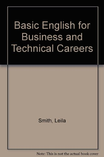 9780130585127: Basic English for Business and Technical Careers