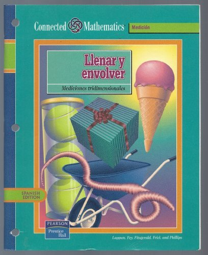 9780130586599: CONNECTED MATHEMATICS 3RD EDITION SPANISH STUDENT EDITION FILLING AND   WRAPPING GRADE 7 2002C
