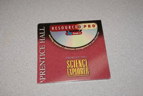 9780130586827: Prentice Hall Resource Pro Grade 6 Science Explorer Texas