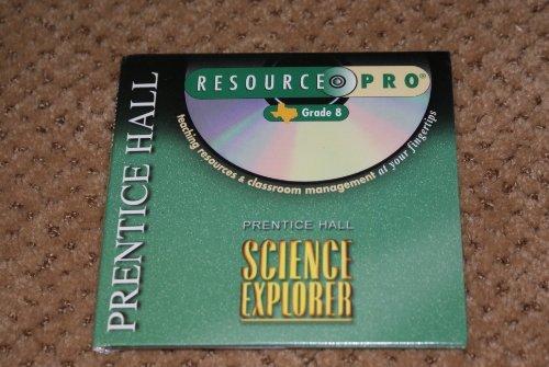 9780130586841: Prentice Hall Science Explorer Resource Pro Grade 8 Texas ( Cd-rom)