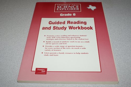 9780130587060: Prentice Hall Science Explorer Guided Reading and Study Workbook Grade 6