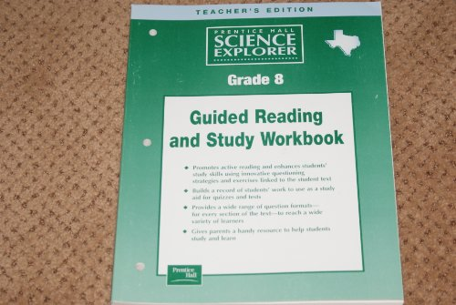 9780130587114: Prentice Hall Science Explorer Grade 8 Guided Reading and Study Workbook Texas Edition