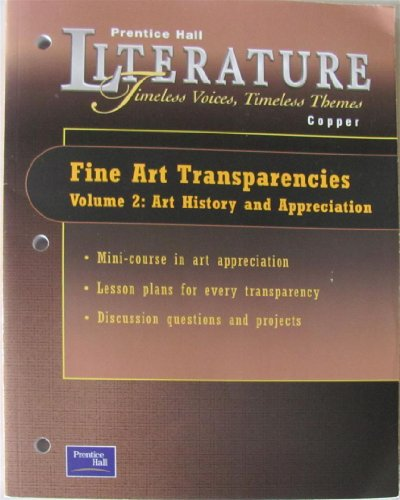 9780130587879: Prentice Hall Literature Copper Fine Art Transparencies Volume 2. (Paperback)