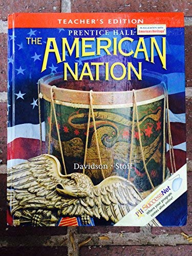 9780130588234: Prentice Hall: The American Nation. Teacher's Edition