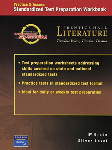 Standardized Test Preparation Workbook Silver Level (Prentice: Prentice Hall Literature