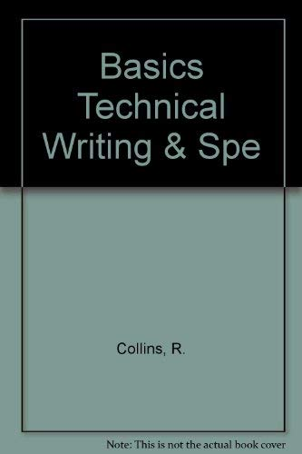 9780130590985: Basics Technical Writing & Spe