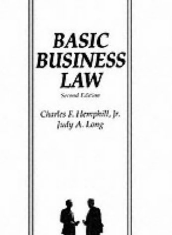 9780130594372: Basic Business Law (2nd Edition)
