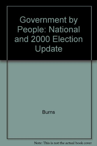 9780130595072: Government by People: National and 2000 Election Update