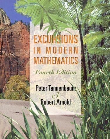 9780130595393: Excursions in Modern Mathematics Fourth Edition