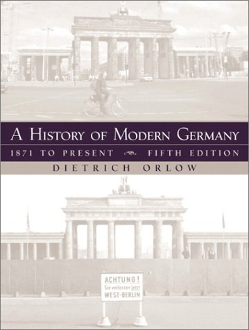 9780130600318: A History of Modern Germany: 1871 to Present (5th Edition)