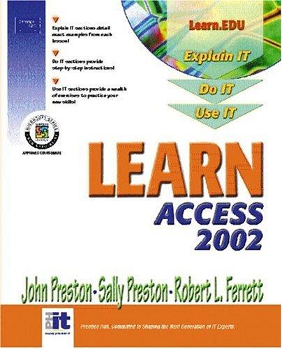 9780130600400: Learn Access 2002