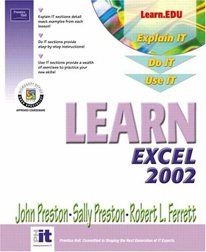 9780130600561: Learn Excel 2002