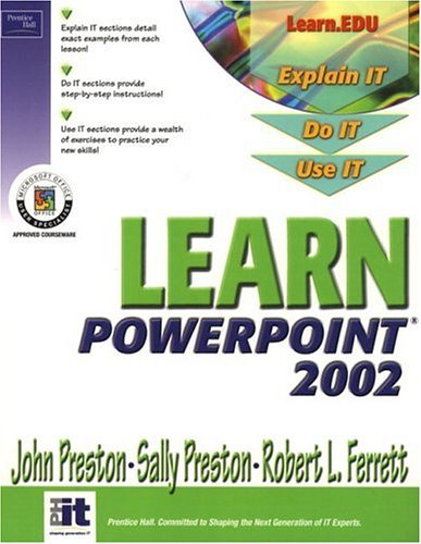 9780130600608: Learn PowerPoint 2002 Comprehensive (Learn Office Xp Series)