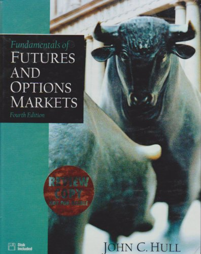 9780130601070: Fundamentals of Futures and Options Markets