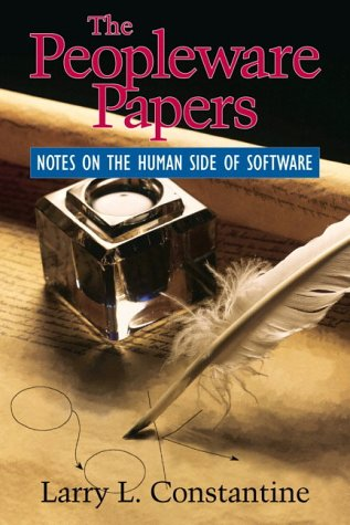 9780130601230: The Peopleware Papers: Notes on the Human Side of Programming (Yourdon Press computing series)