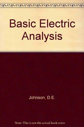 9780130601377: Basic Electric Analysis