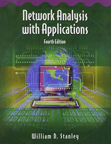 9780130602466: Network Analysis with Applications