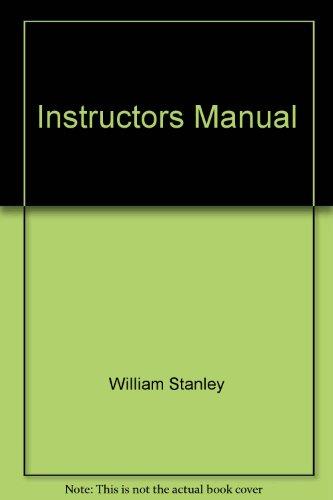 9780130602473: Instructors Manual