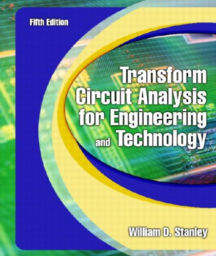 9780130602596: Transform Circuit Analysis for Engineering and Technology (5th Edition)