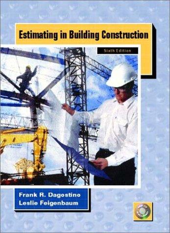 9780130604057: Estimating in Building Construction (6th Edition)
