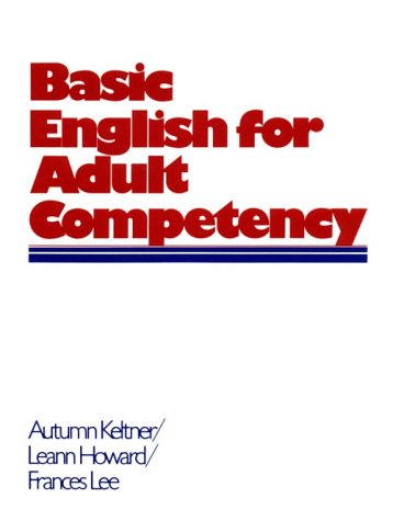 9780130604187: Basic English for Adult Competency