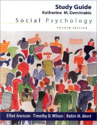 9780130605146: Social Psychology: Study Guide, Fourth Edition