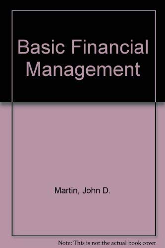9780130605412: Basic Financial Management