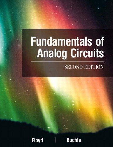 9780130606198: Fundamentals of Analog Circuits (2nd Edition)