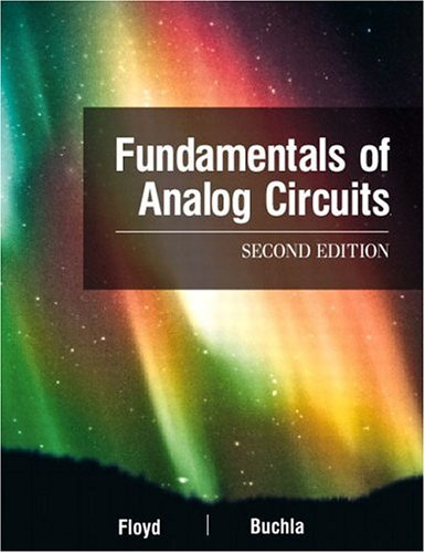 9780130606198: Fundamentals of Analog Circuits (2nd Edition)