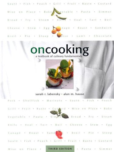 9780130606280: On Cooking: A Textbook of Culinary Fundamentals (with software) (3rd Edition)