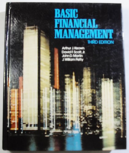 9780130606419: Basic Financial Management
