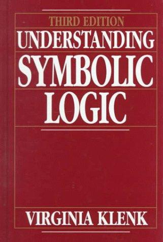 9780130607676 Understanding Symbolic Logic Abebooks Virginia