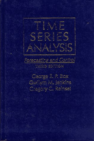 9780130607744: Time Series Analysis: Forecasting & Control (3rd Edition)