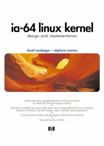 9780130610140: IA-64 Linux Kernel: Design and Implementation