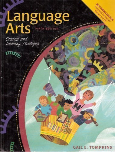 9780130610461: Language Arts: Content And Teaching Strategies [Fifth 5th Edition]