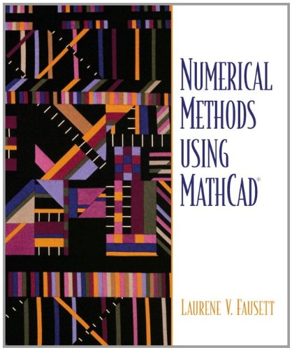 9780130610812: Numerical Methods Using MathCAD