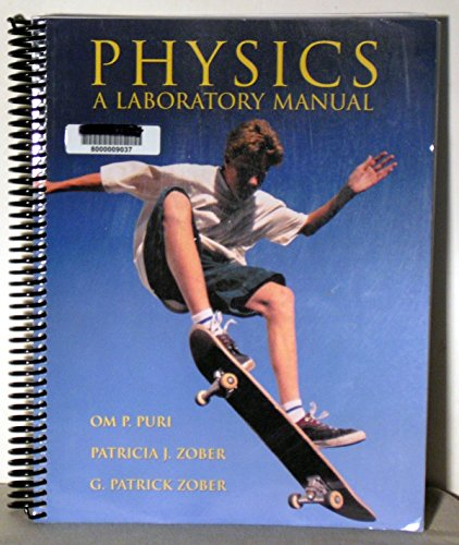 Physics Lab Manual: Jerry D. Wilson,