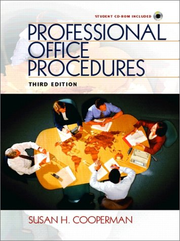 9780130612137: Professional Office Procedures (3rd Edition)
