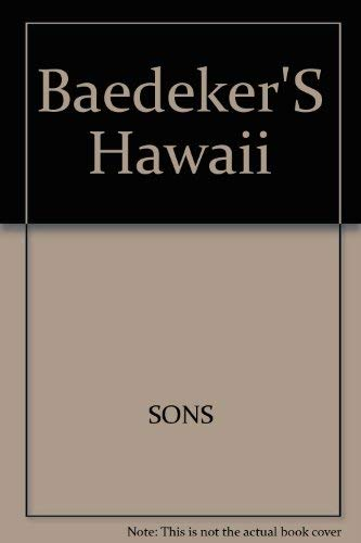 9780130612274 Baedeker HawaiiIncludes Free Giant FoldOut Map