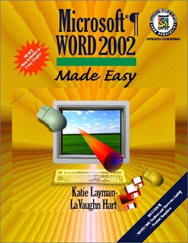9780130612281: Microsoft Word 2002 Made Easy
