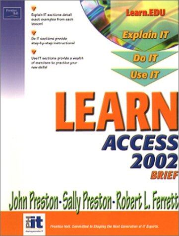 9780130613134: Learn Access 2002 Brief