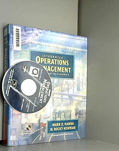 9780130614995: Integrated Operations Management: Adding Value for Customers,