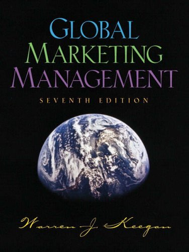 9780130615060: Global Marketing Management