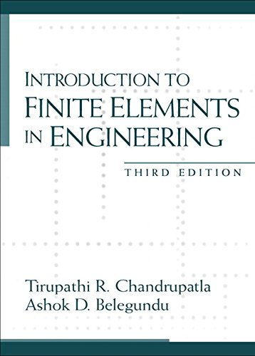 9780130615916: Introduction to Finite Elements in Engineering (3rd Edition)