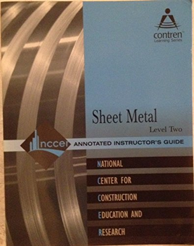 9780130616135: Sheet Metal: Trainee Guide Level 1