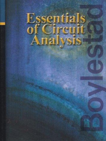 9780130616555: Essentials of Circuit Analysis