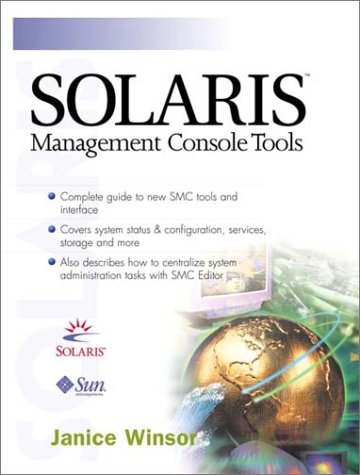 9780130617620: Solaris Management Console Tools