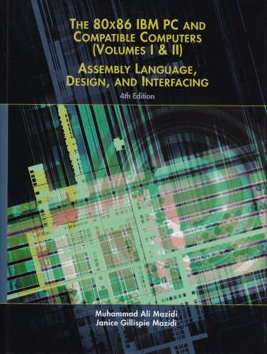 9780130617750: 80x86 IBM PC and Compatible Computers: v. 1: Assembly Language, Design, and Interfacing